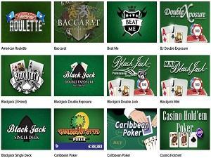 online gokken tafelspellen