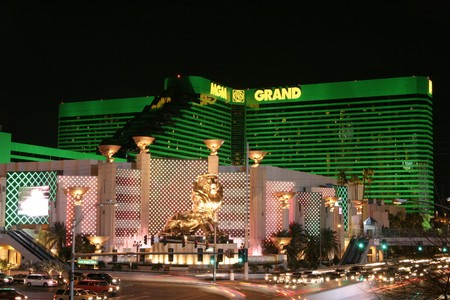 Het MGM Grand in Las vegas. Een van de locaties voor top Las Vegas shows