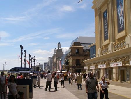 Atlantic City Boardwalk casino's