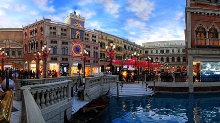 Venetian Macao een van de grootste casino's ter wereld