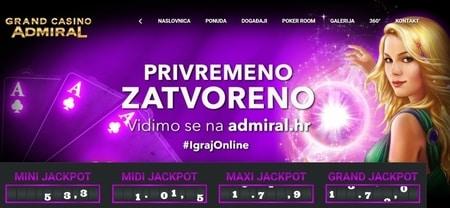 Voorbeeld casino gokken in Kroatië